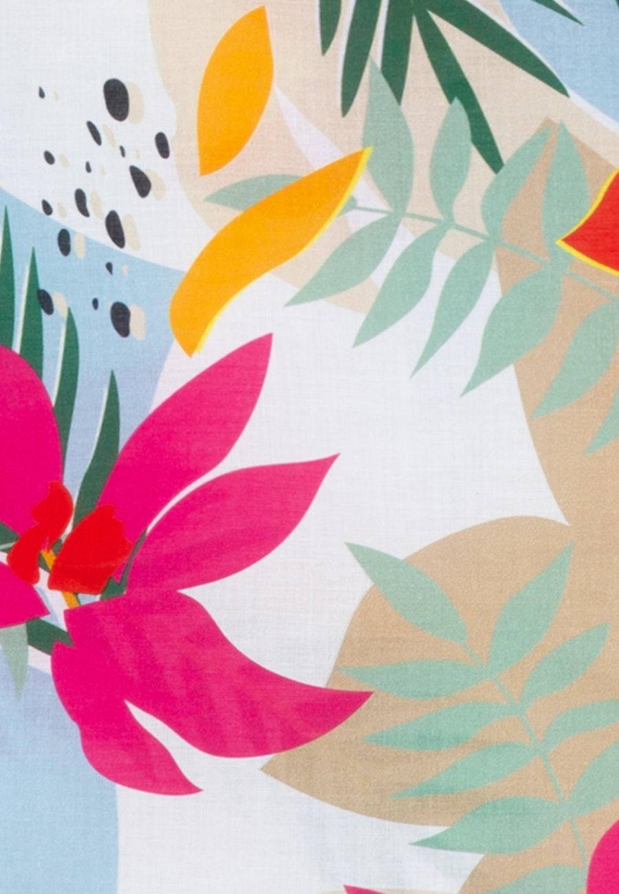 Voile Schlupfbluse aus 100% Baumwolle in Rosa/Pink    Seidensticker Onlineshop