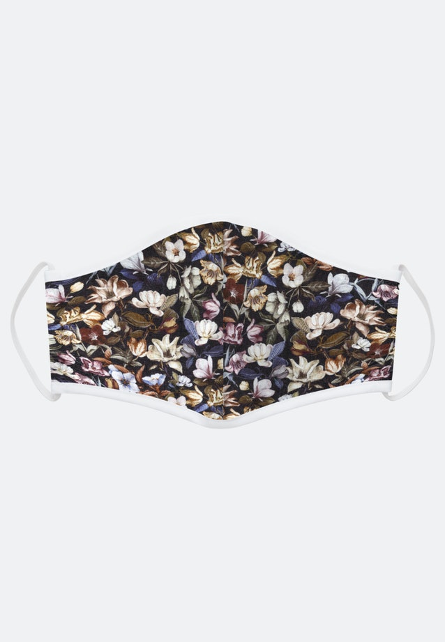 10er-Pack Mund-Nasen-Masken aus 100% Baumwolle in Braun    Seidensticker Onlineshop