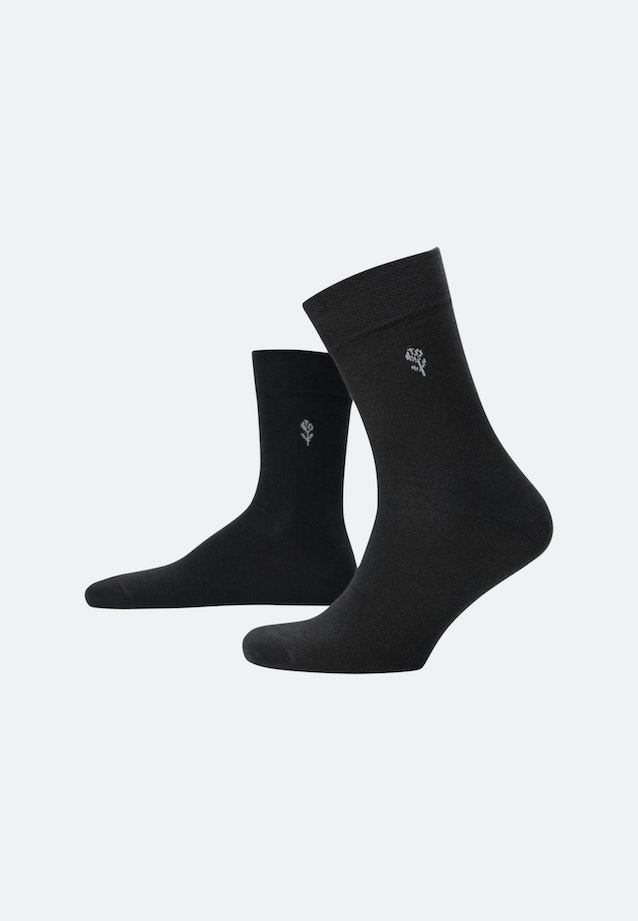 Five-Pack Socks made of cotton blend in Black |  Seidensticker Onlineshop