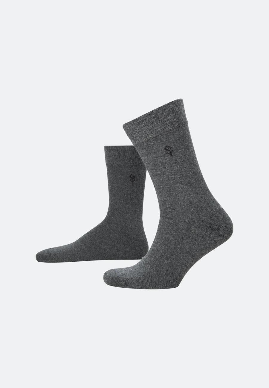 Five-Pack Socks made of cotton blend in Grey |  Seidensticker Onlineshop