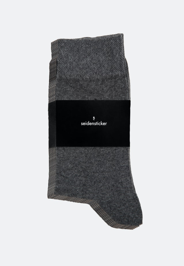 Five-Pack Socks made of cotton blend in Grey |  Seidensticker Onlineshop