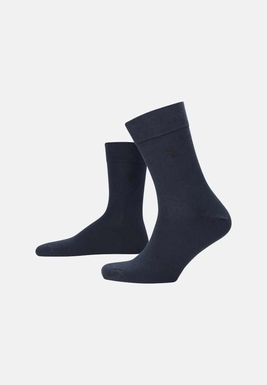 5er-Pack Socken aus Baumwollmischung in Dunkelblau |  Seidensticker Onlineshop