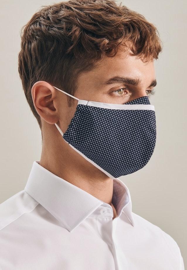 10er-Pack Mund-Nasen-Masken aus 100% Baumwolle in Dunkelblau |  Seidensticker Onlineshop