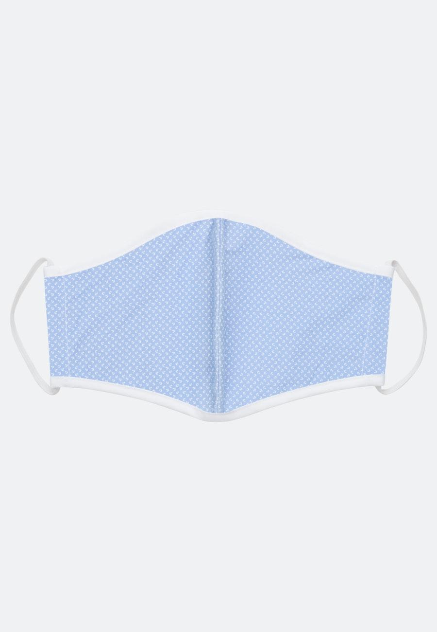 5er-Pack Mund-Nasen-Masken aus 100% Baumwolle in Dunkelblau |  Seidensticker Onlineshop