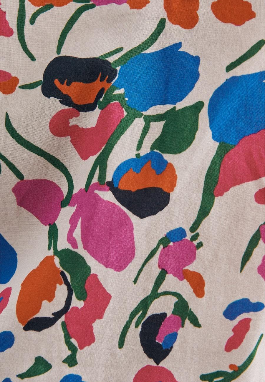 Popeline Slip Over Blouse made of 100% Cotton in Ecru |  Seidensticker Onlineshop