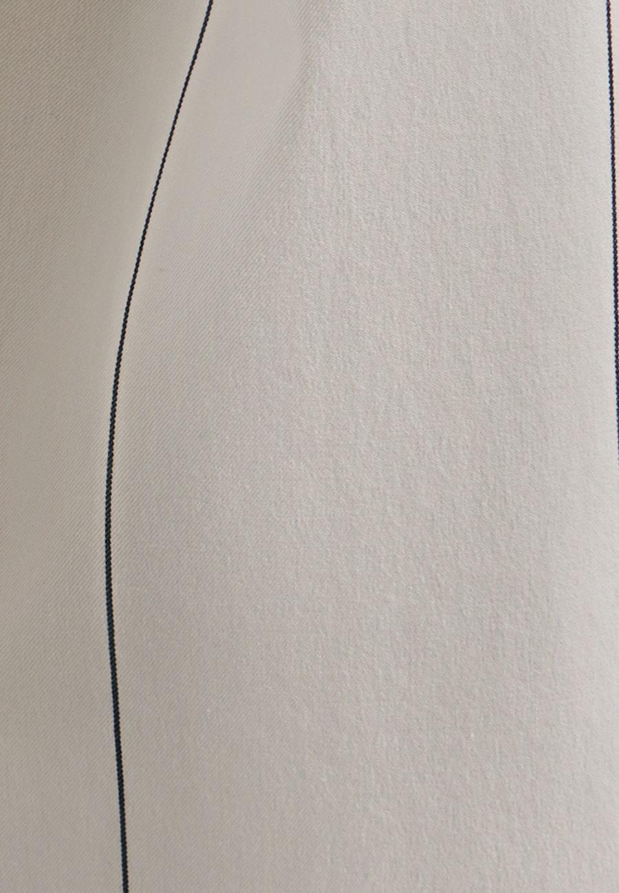 Twill Longbluse aus Baumwollmischung in Ecru    Seidensticker Onlineshop