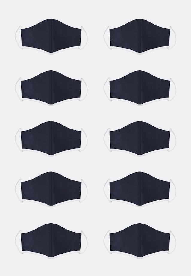 10er-Pack Mund-Nasen-Masken aus 100% Baumwolle in Rot    Seidensticker Onlineshop