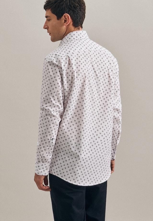 Easy-iron Oxford Business Shirt in Regular with Kent-Collar in White |  Seidensticker Onlineshop