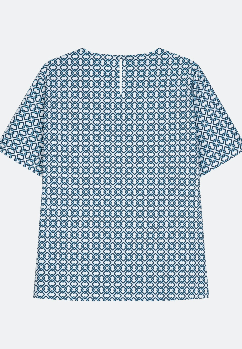 Kurzarm Popeline Shirtbluse aus Baumwollmischung in Ecru    Seidensticker Onlineshop