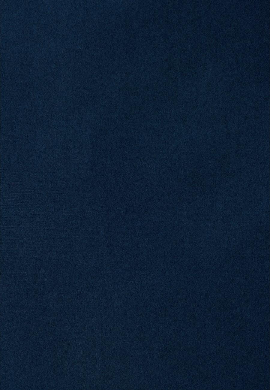 Popeline Midi Rock aus 100% Baumwolle in Dunkelblau |  Seidensticker Onlineshop