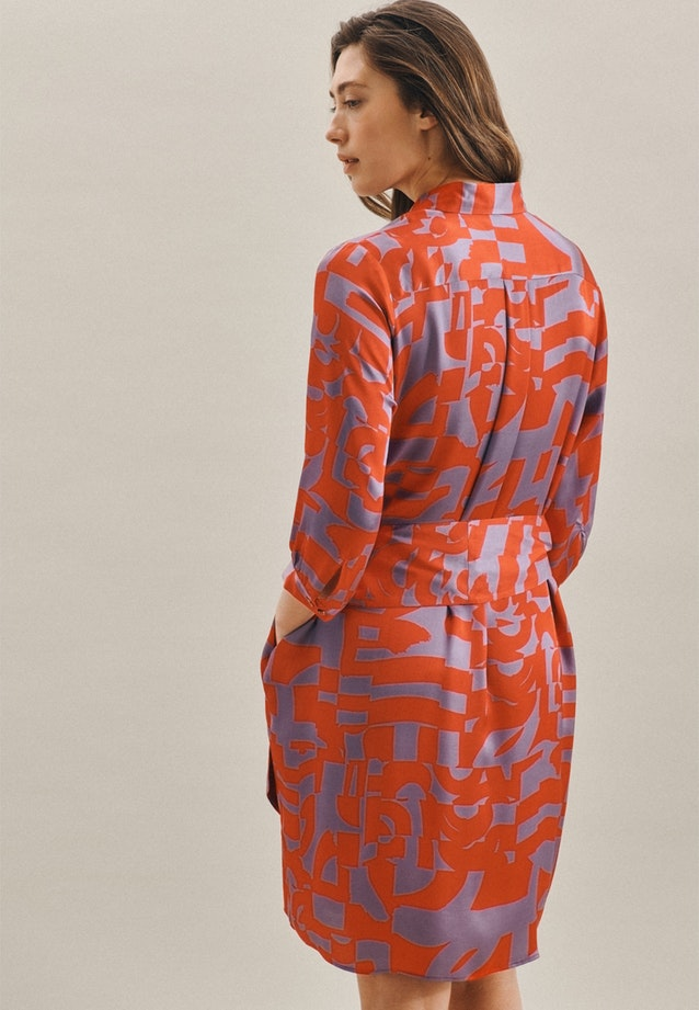 Satin Midi Dress made of 100% Viscose in Red |  Seidensticker Onlineshop