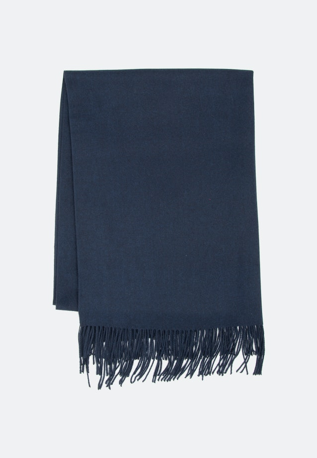 Scarf made of viscose blend in Dark blue |  Seidensticker Onlineshop