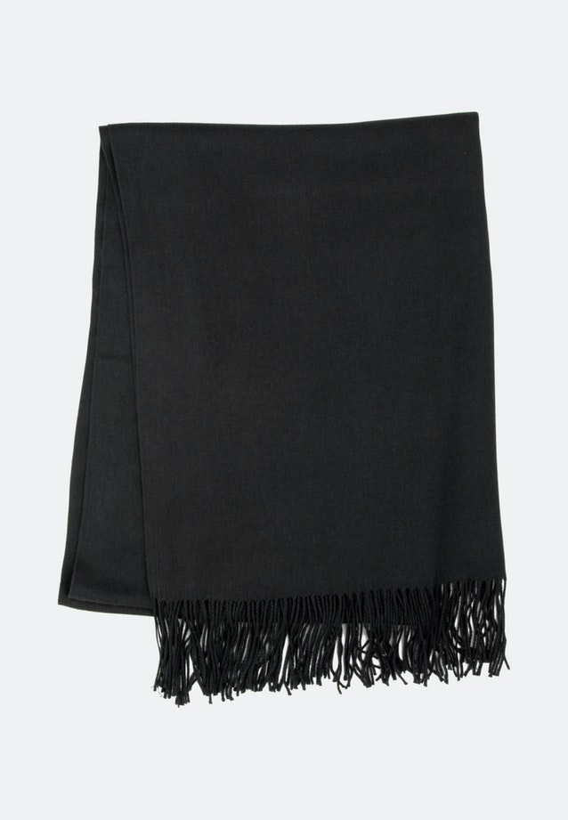 Scarf made of viscose blend in Black |  Seidensticker Onlineshop