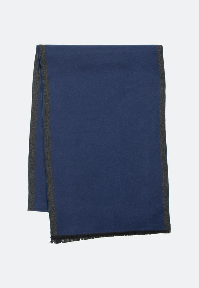Scarf made of 100% Viscose in Dark blue |  Seidensticker Onlineshop