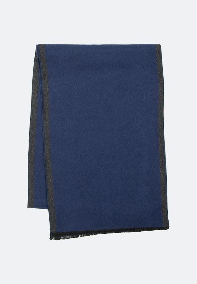 Scarf made of 100% Viscose in Dark blue |  Seidensticker Onlineshop