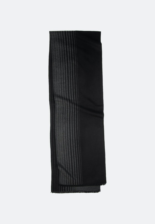 Scarf made of 100% Viscose in Black |  Seidensticker Onlineshop