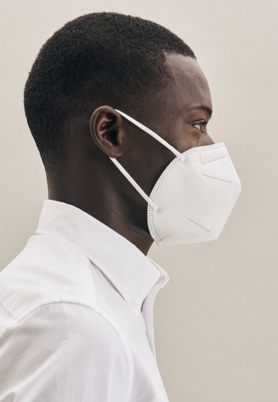 twenty pack FFP2 protective masks made of 100 % Polypropylen in White |  Seidensticker Onlineshop