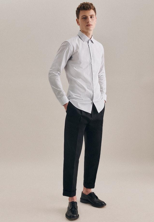Oxfordhemd in X-Slim mit Kentkragen in Weiß |  Seidensticker Onlineshop
