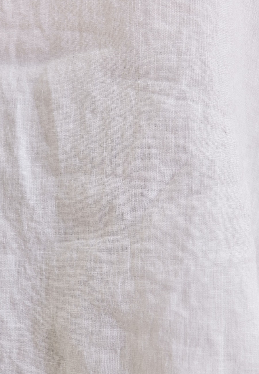 Kurzarm Leinen Shirtbluse aus 100% Leinen in Weiß    Seidensticker Onlineshop