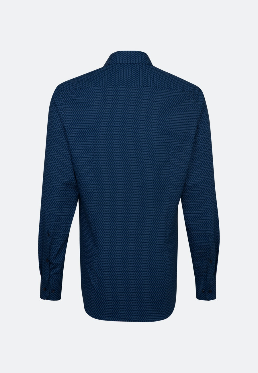 Poplin Business Shirt in X-Slim with Kent-Collar and extra long sleeve in Light blue |  Seidensticker Onlineshop