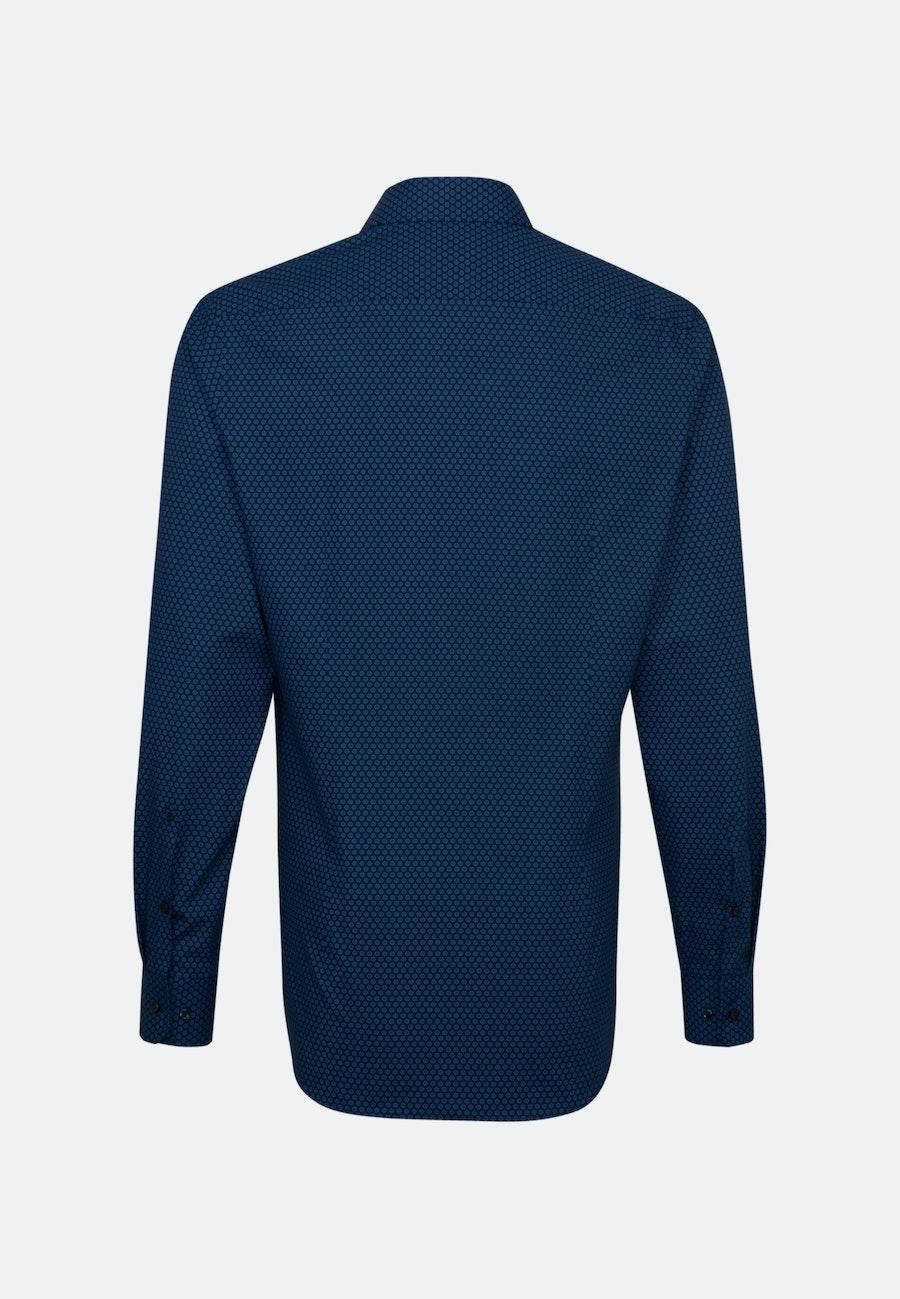 Popeline Business Hemd in Slim mit Kentkragen und extra langem Arm in Hellblau |  Seidensticker Onlineshop