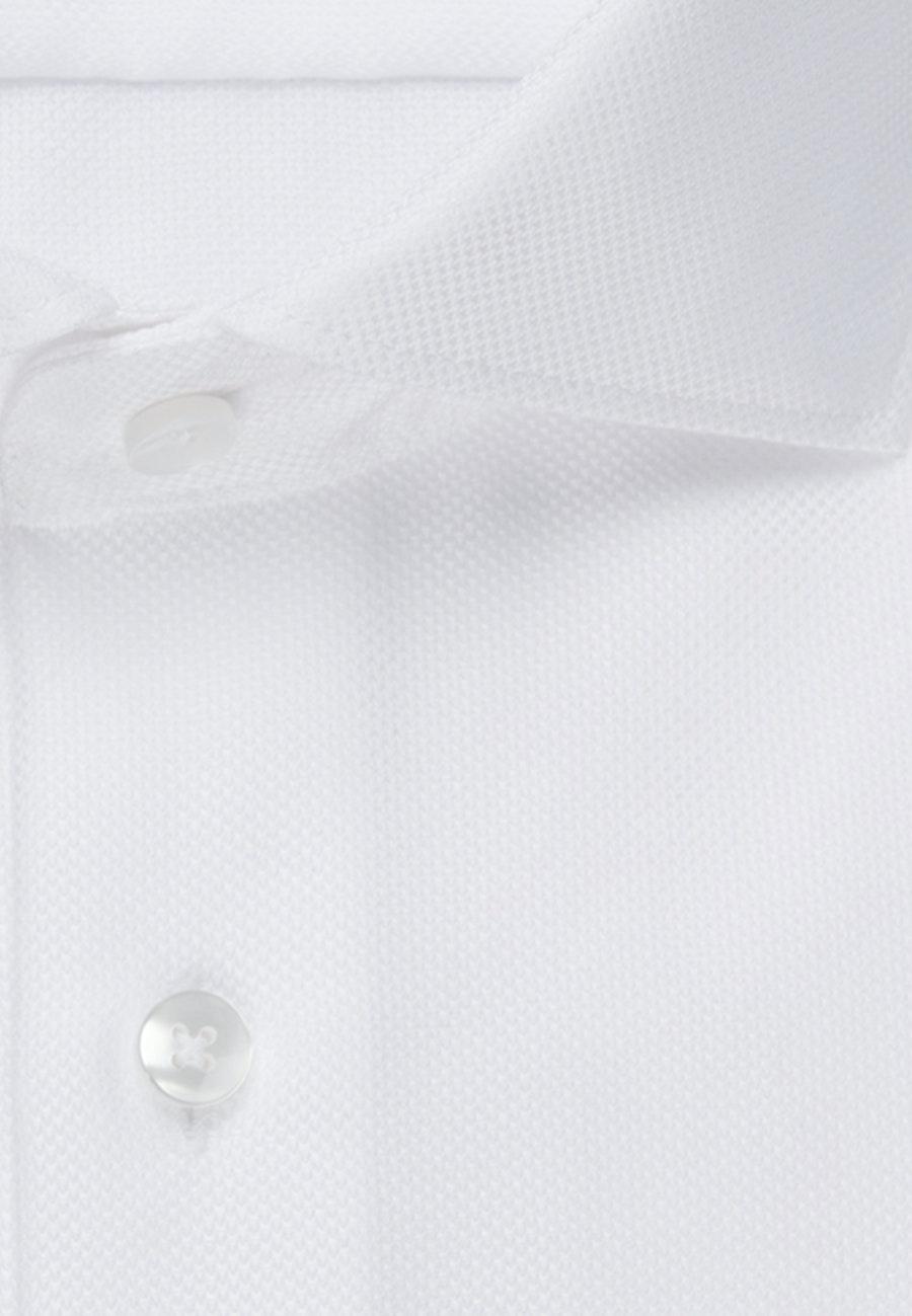 Easy-iron Struktur Business Shirt in Slim with Kent-Collar in White |  Seidensticker Onlineshop