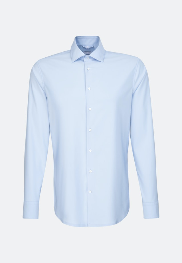 Twill Business Shirt in Regular with Kent-Collar in Light blue |  Seidensticker Onlineshop