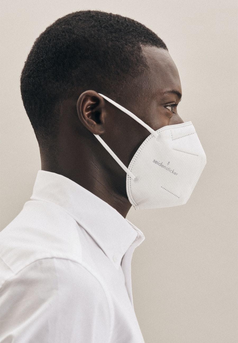 10er-Pack FFP2 Schutzmasken aus 100% Polypropylen in Weiß |  Seidensticker Onlineshop