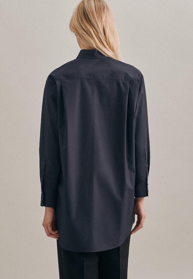 Popeline Hemdbluse aus 100% Baumwolle in Grau |  Seidensticker Onlineshop