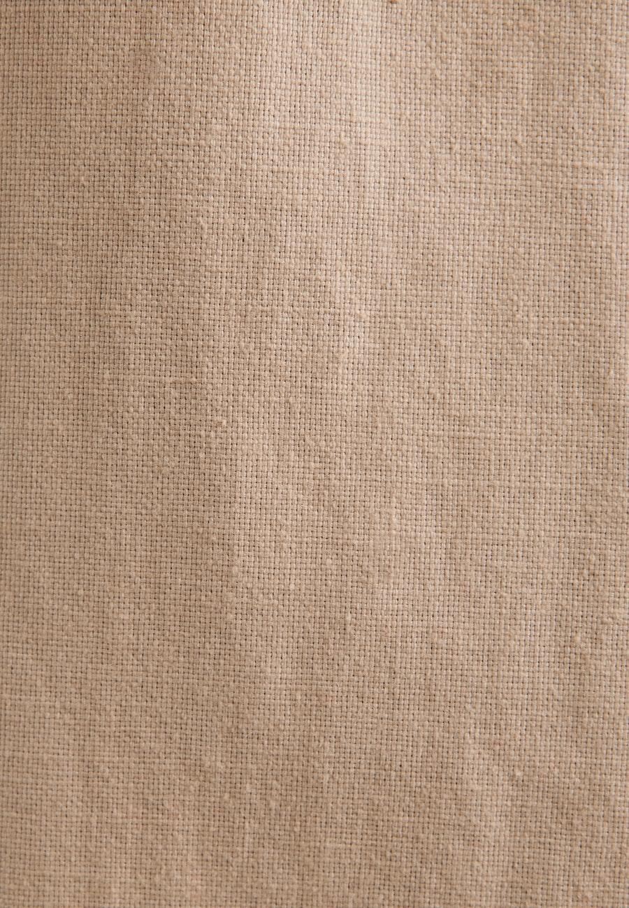 Kurzarm Leinen Jacke aus Leinenmischung in Braun    Seidensticker Onlineshop