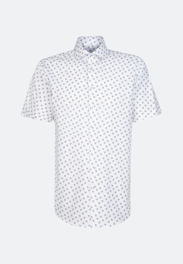 Easy-iron Oxford Short sleeve Business Shirt in Regular with Kent-Collar in White |  Seidensticker Onlineshop