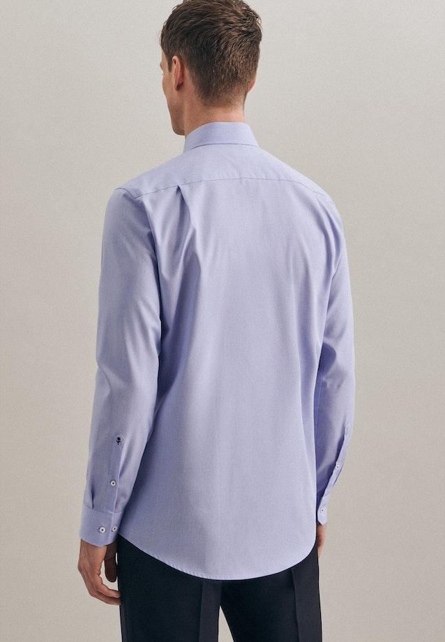 Non-iron Struktur Business Shirt in Regular with Kent-Collar and extra long sleeve in Light blue |  Seidensticker Onlineshop
