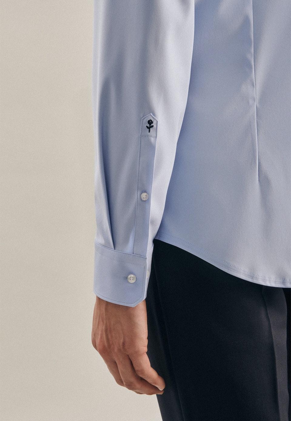 Performance shirt in X-Slim with Kent-Collar in Light blue |  Seidensticker Onlineshop