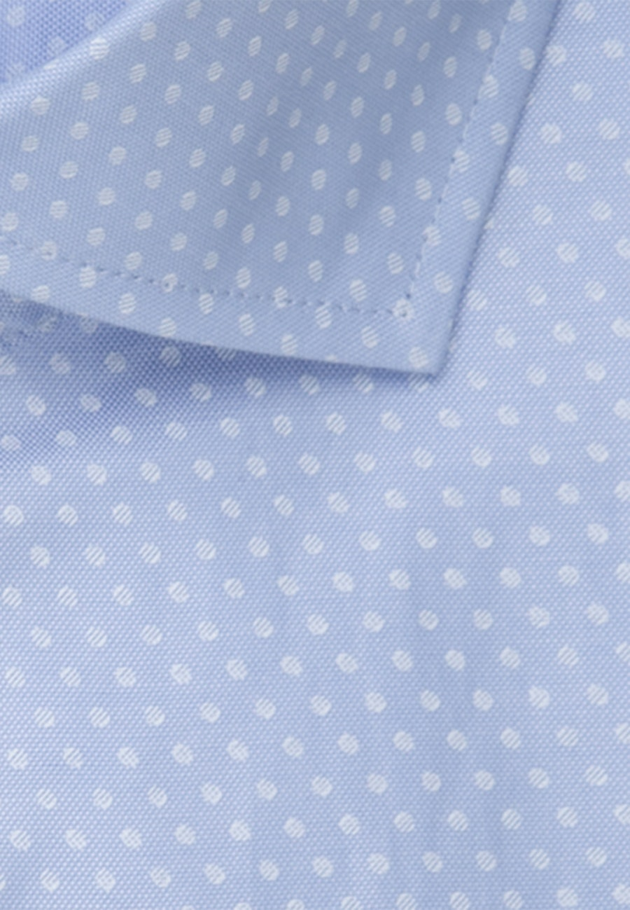 Bügelleichtes Oxford Kurzarm Business Hemd in Regular mit Kentkragen in Hellblau |  Seidensticker Onlineshop