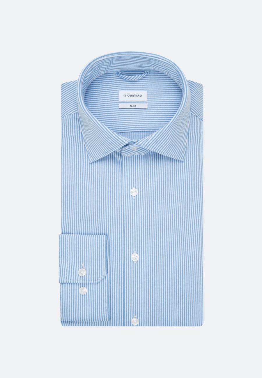 Jersey Business Hemd in Slim mit Kentkragen in Hellblau |  Seidensticker Onlineshop