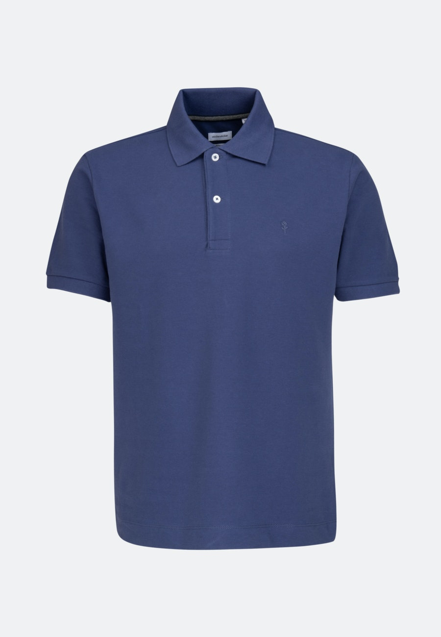 Polo-Shirt Regular made of 100% Cotton in Medium blue    Seidensticker Onlineshop