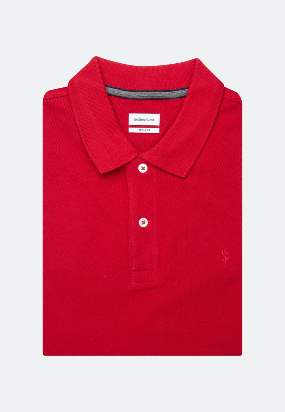 Polo-Shirt Regular made of 100% Cotton in Red |  Seidensticker Onlineshop