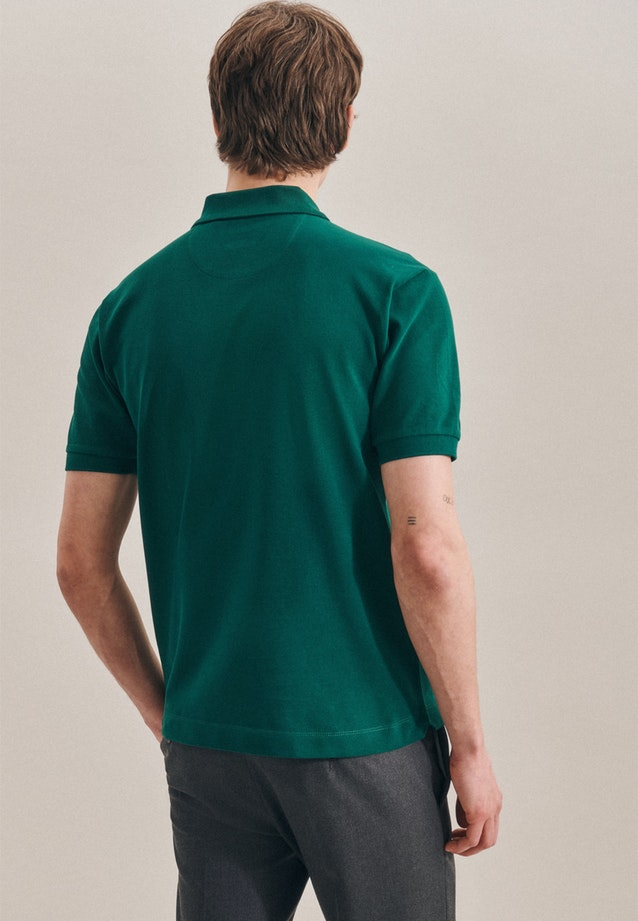Polo-Shirt Regular made of 100% Cotton in Green |  Seidensticker Onlineshop
