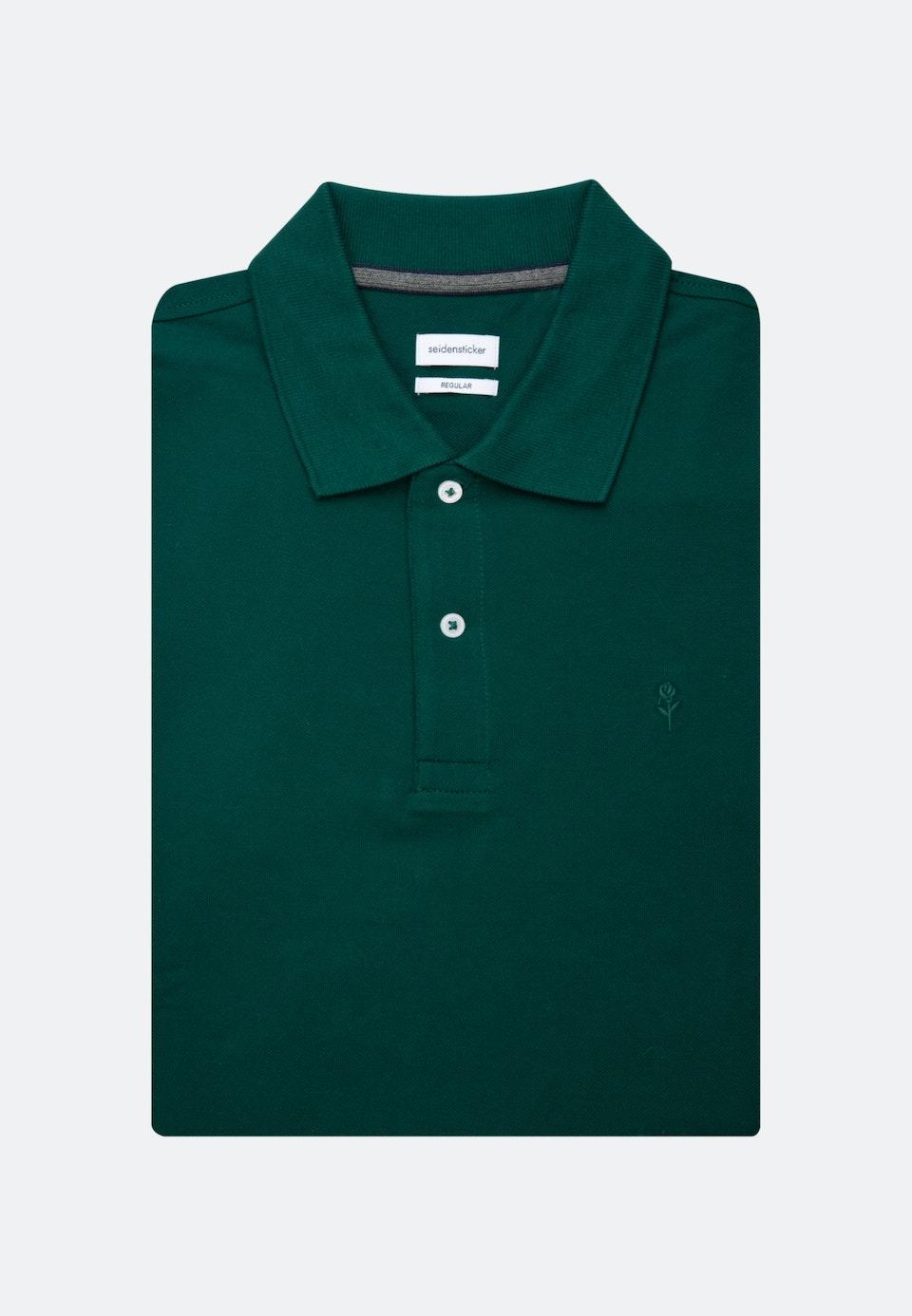 Polo-Shirt Regular made of 100% Cotton in Green |  Seidensticker Onlineshop