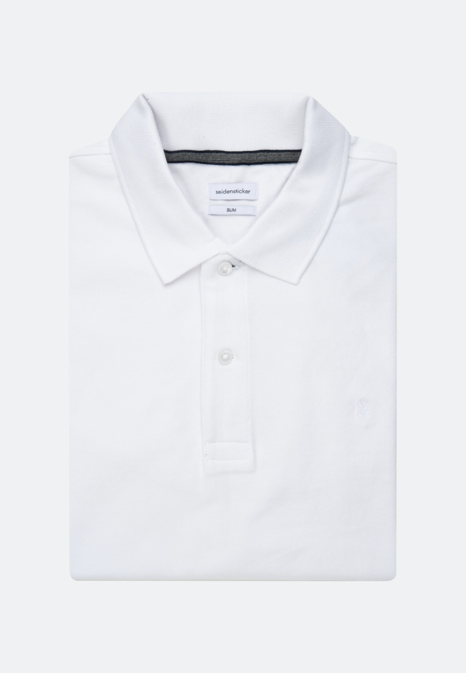 Polo-Shirt Slim made of 100% Cotton in White |  Seidensticker Onlineshop