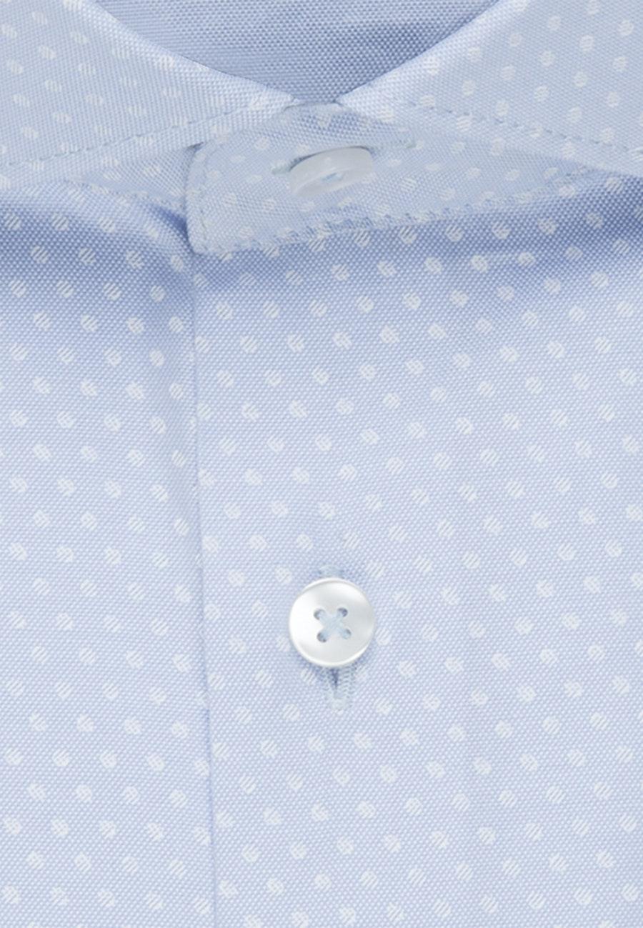 Bügelleichtes Oxford Business Hemd in Slim mit Kentkragen in Hellblau |  Seidensticker Onlineshop