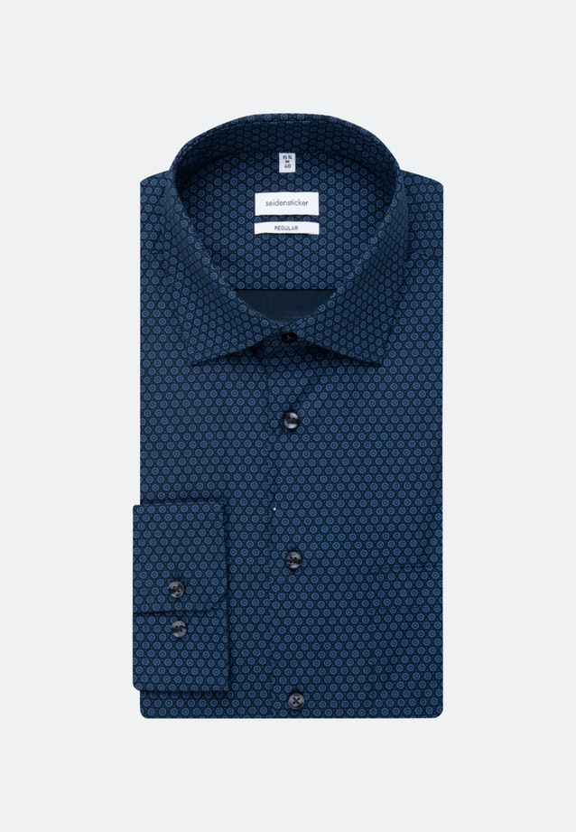 Easy-iron Poplin Business Shirt in Regular with Kent-Collar and extra long sleeve in Light blue |  Seidensticker Onlineshop
