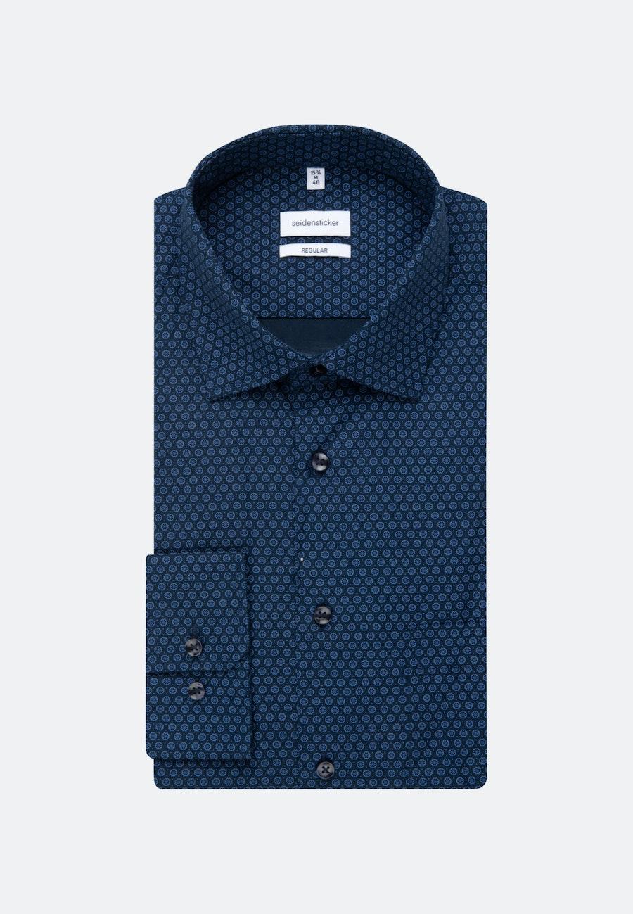Poplin Business Shirt in Regular with Kent-Collar and extra long sleeve in Light blue |  Seidensticker Onlineshop