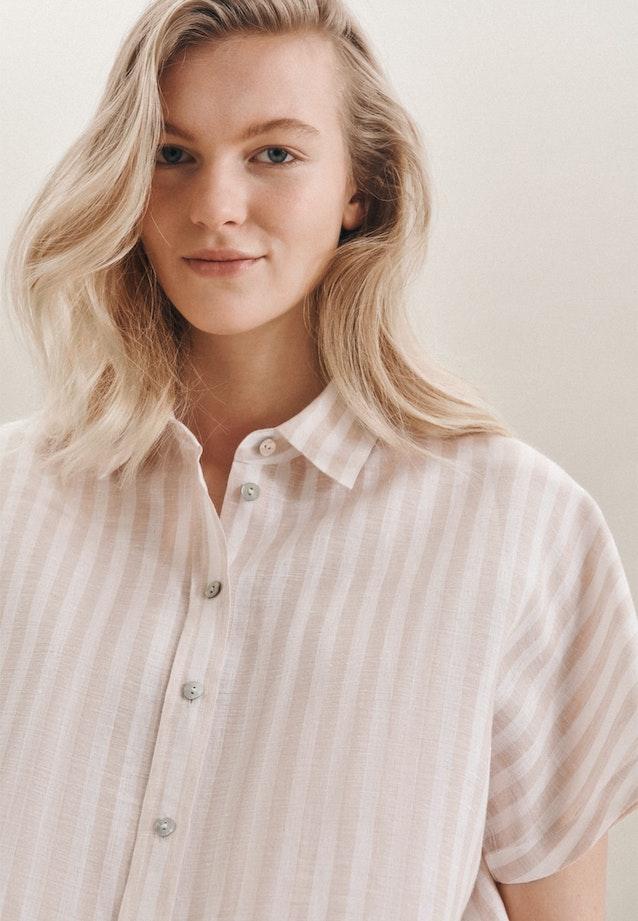 Ärmellose Leinen Hemdbluse aus 100% Leinen in Braun |  Seidensticker Onlineshop