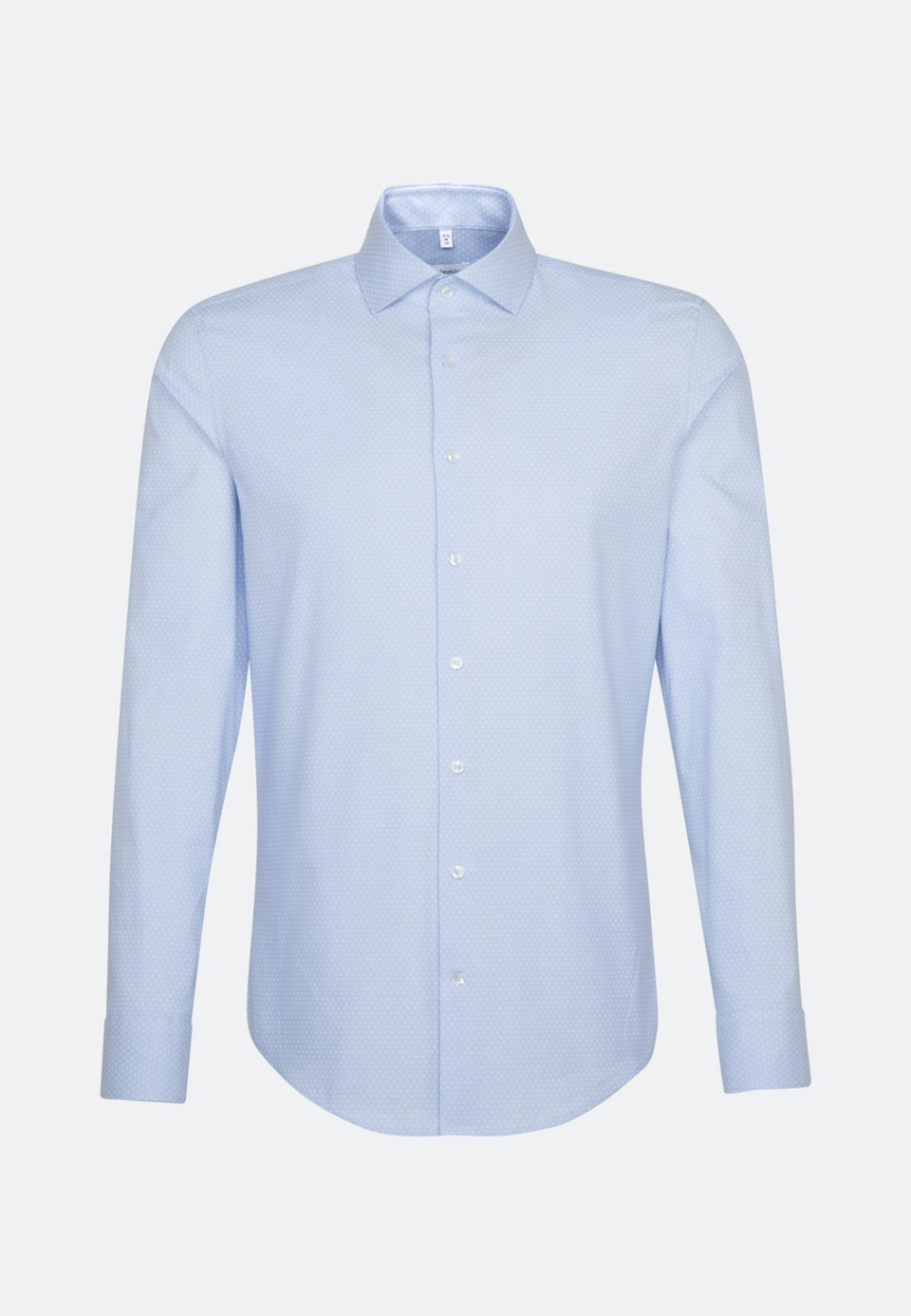 Oxford shirt in Regular with Kent-Collar and extra long sleeve in Light blue |  Seidensticker Onlineshop