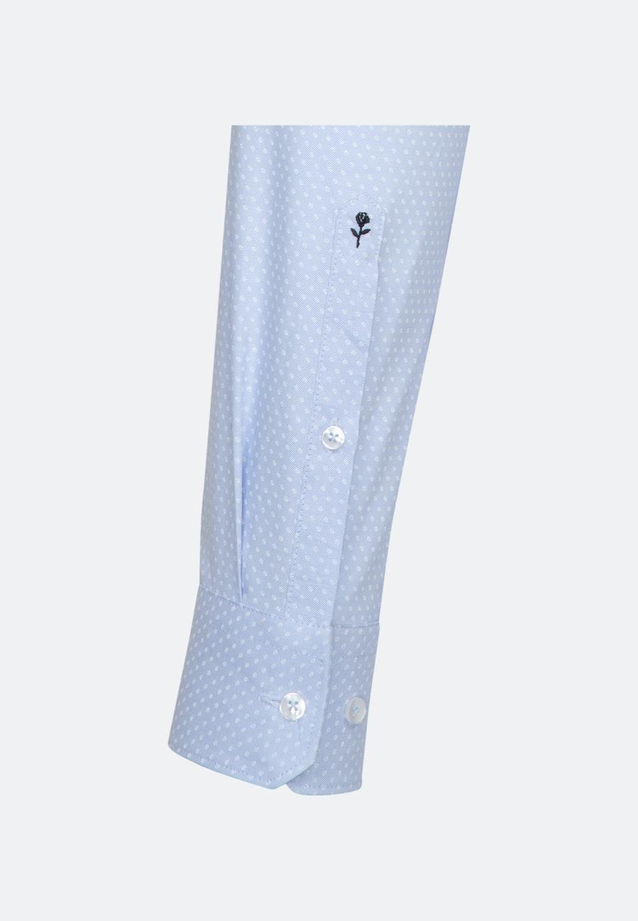 Bügelleichtes Oxford Business Hemd in X-Slim mit Kentkragen in Hellblau |  Seidensticker Onlineshop