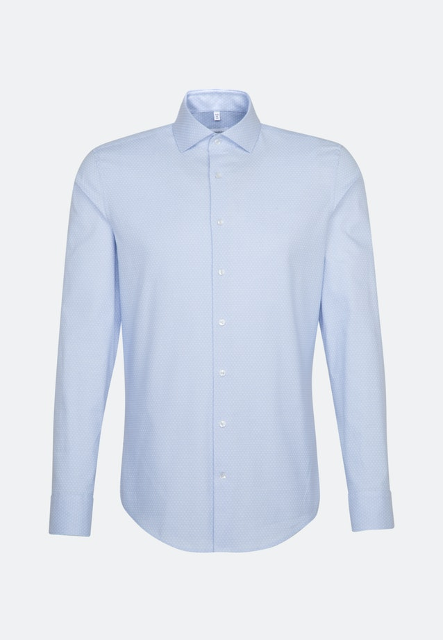 Easy-iron Oxford Business Shirt in Slim with Kent-Collar and extra long sleeve in Light blue |  Seidensticker Onlineshop
