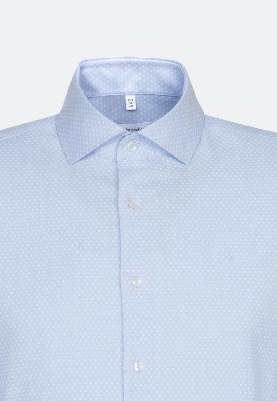 Oxfordhemd in Slim mit Kentkragen und extra langem Arm in Hellblau |  Seidensticker Onlineshop