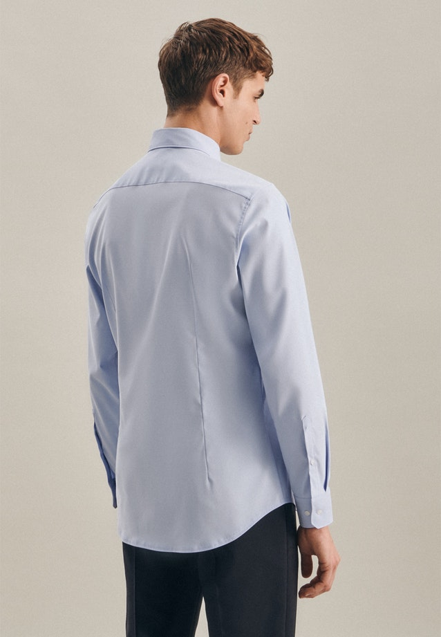 Twill Business Shirt in Shaped with Kent-Collar in Light blue |  Seidensticker Onlineshop