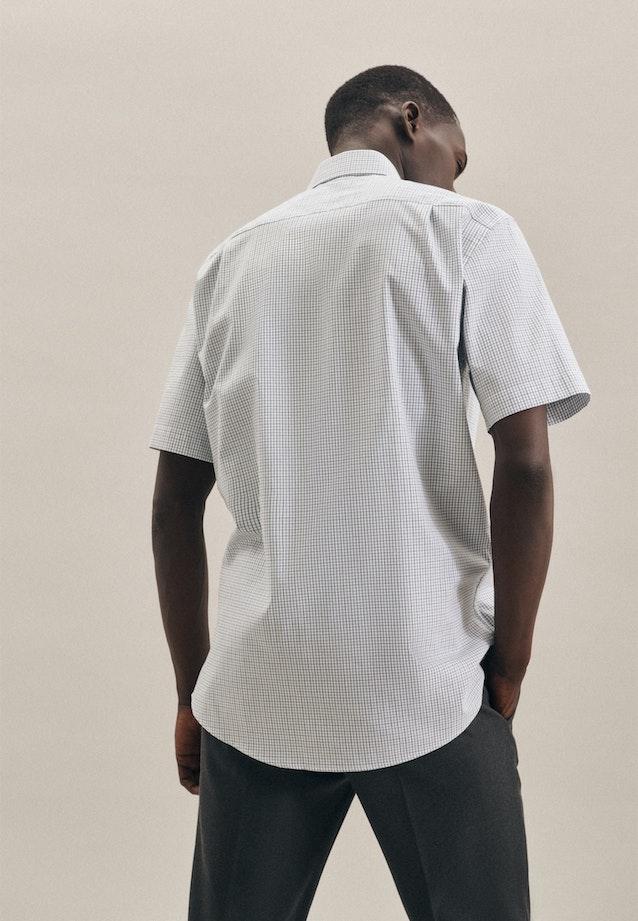 Non-iron Oxford Short sleeve Oxford shirt in Regular with Kent-Collar in Green |  Seidensticker Onlineshop